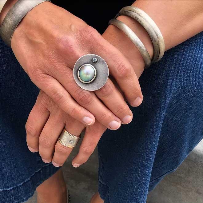 A photo from Chrissy Liu Jewelry.